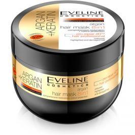 Eveline Cosmetics Argan + Keratin hajmaszk 8 in 1  500 ml