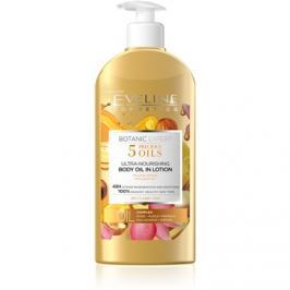 Eveline Cosmetics Botanic Expert tápláló testápoló tej száraz bőrre  350 ml
