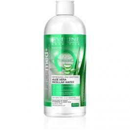 Eveline Cosmetics FaceMed+ micelláris víz aleo verával  400 ml