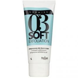 Farmona Dermiss Soft Exfoliation tisztító peelinges gél a bőr felszínének megújítására  75 ml