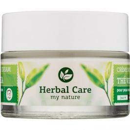 Farmona Herbal Care Green Tea normalizáló és mattító nappali és éjszakai krém kombinált és zsíros bőrre  50 ml