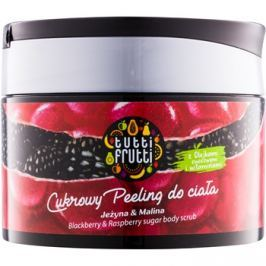 Farmona Tutti Frutti Blackberry & Raspberry cukros test peeling  300 g