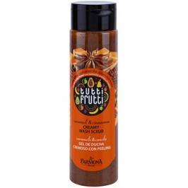 Farmona Tutti Frutti Caramel & Cinnamon krémes fürdőpeeling  250 ml