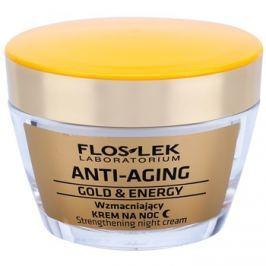 FlosLek Laboratorium Anti-Aging Gold & Energy erősítő éjszakai krém  50 ml