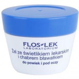 FlosLek Laboratorium Eye Care szemkörnyék ápoló gél szemvidítóval és búzavirággal  10 g