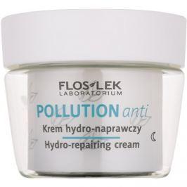 FlosLek Laboratorium Pollution Anti hidratáló éjszakai krém regeneráló hatással  50 ml