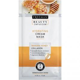Freeman Beauty Infusion Manuka Honey + Collagen hidratáló krémes maszk normál és száraz bőrre  15 ml