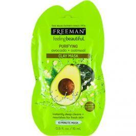 Freeman Feeling Beautiful arcmaszk agyagból mélytisztításhoz Avocado & Oatmeal  15 ml