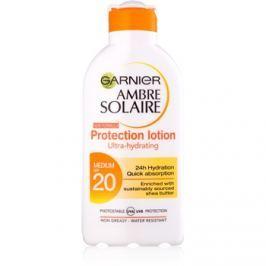Garnier Ambre Solaire hidratáló napozótej SPF 20  200 ml