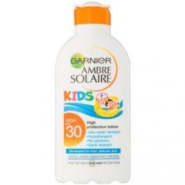 Garnier Ambre Solaire Kids napvédő tej gyermekeknek SPF30  200 ml