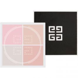 Givenchy Prisme Libre mattító és élénkítő púder  4 in 1 árnyalat 7 Voile Rosé 4 x 3 g