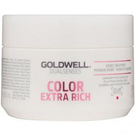 Goldwell Dualsenses Color Extra Rich regeneráló maszk a vastagszálú, festett hajra  200 ml