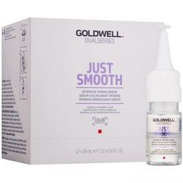 Goldwell Dualsenses Just Smooth kisimító szérum a rakoncátlan és töredezett hajra  12x18 ml
