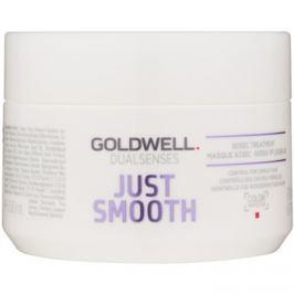 Goldwell Dualsenses Just Smooth kisimító maszk a rakoncátlan hajra  200 ml