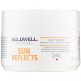 Goldwell Dualsenses Sun Reflects regeneráló maszk nap, klór és sós víz által terhelt hajra  200 ml