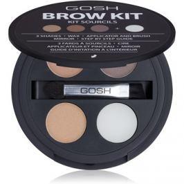 Gosh Brow Kit szemöldök szett 001 3,32 g