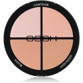 Gosh Contour'n Strobe kontúrozó és élénkítő paletta árnyalat 001 Light 15 g