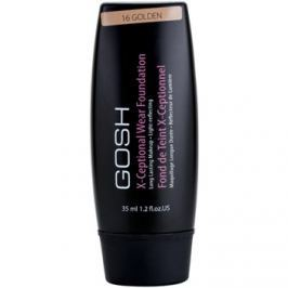 Gosh X-ceptional hosszan tartó make-up árnyalat 16 Golden 35 ml