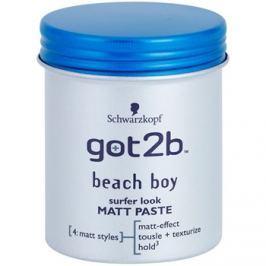 got2b Beach Boy mattító paszta az alakért és formáért  100 ml