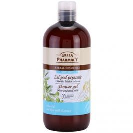 Green Pharmacy Body Care Olive & Rice Milk tusfürdő gél  500 ml