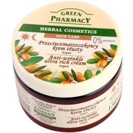 Green Pharmacy Face Care Argan tápláló ráncok elleni krém száraz bőrre  150 ml