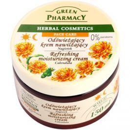 Green Pharmacy Face Care Calendula élénkítő hidratáló krém a dehidratált száraz bőrre  150 ml