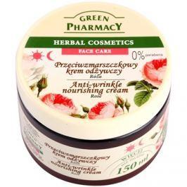 Green Pharmacy Face Care Rose tápláló ráncok elleni krém  150 ml