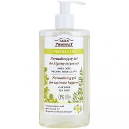 Green Pharmacy Pharma Care Oak Bark Tea Tree gél intim higiéniára  300 ml