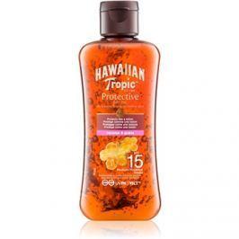 Hawaiian Tropic Protective száraz olaj napozáshoz SPF15  100 ml