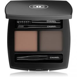 Chanel La Palette Sourcils de Chanel szett a tökéletes szemöldökért 50 Brun 4 g