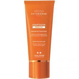 Institut Esthederm Adaptasun Sensitive védőkrém az egész arcra közepes UV védelemmel  50 ml