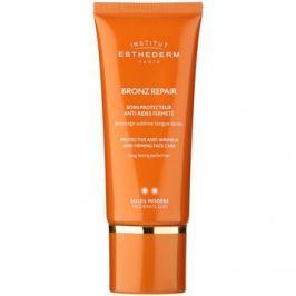 Institut Esthederm Bronz Repair feszesítő arckrém a ráncok ellen közepes UV védelemmel  50 ml