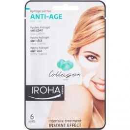 Iroha Anti - Age Collagen ráncellenes maszk szem- és szájkörnyékre 3 x 2 db