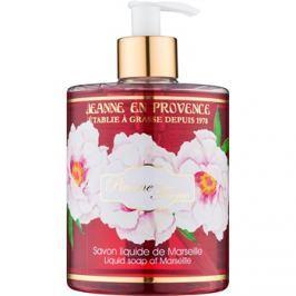 Jeanne en Provence Pivoine Féerie folyékony szappan bazsarózsa  500 ml
