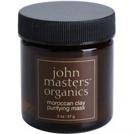 John Masters Organics Oily to Combination Skin tisztító arcmaszk  57 g