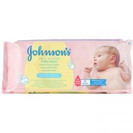 Johnson's Baby Diapering extra finom nedves törlőkendő tisztításra gyermekeknek  56 db