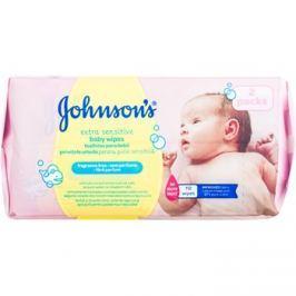 Johnson's Baby Diapering extra finom nedves törlőkendő tisztításra gyermekeknek  112 db