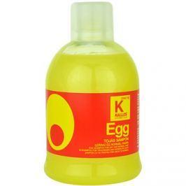 Kallos Egg tápláló sampon száraz és normál hajra  1000 ml