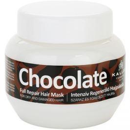 Kallos Chocolate regeneráló maszk száraz és sérült hajra  275 ml