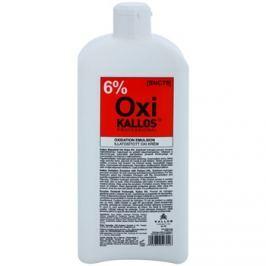 Kallos Oxi peroxid krém 6% professzionális használatra  1000 ml