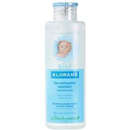 Klorane Bébé tisztító micelláris víz gyermekeknek  500 ml