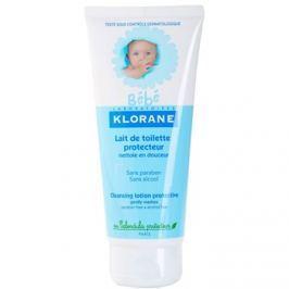 Klorane Bébé tisztító tej gyermekeknek  200 ml