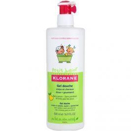 Klorane Petit Junior tusfürdő gél testre és hajra körte illatú  500 ml