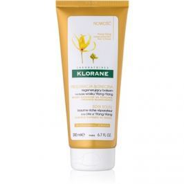 Klorane Ylang-Ylang megújító kondicionáló nap által károsult haj  200 ml