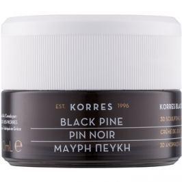 Korres Face Black Pine feszesítő és liftinges nappali krém száraz és nagyon száraz bőrre  40 ml