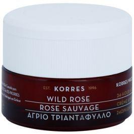 Korres Face Wild Rose élénkítő és hidratáló krém kombinált és zsíros bőrre  40 ml