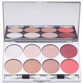 Kryolan Basic Eyes paletta szemhéjpúder 8 szín tükörrel és aplikátorral árnyalat Elegance 24 g