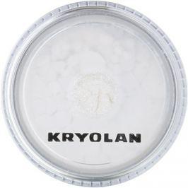 Kryolan Basic Face & Body csillogó por arcra és testre árnyalat Silver 3 g
