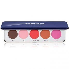 Kryolan Basic Face & Body 5 színű arcpír paletta  12,5 g