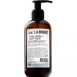 L:A Bruket Body folyékony szappan salviával, rozmaringgal és levendulával a kezekre és a testre  250 ml